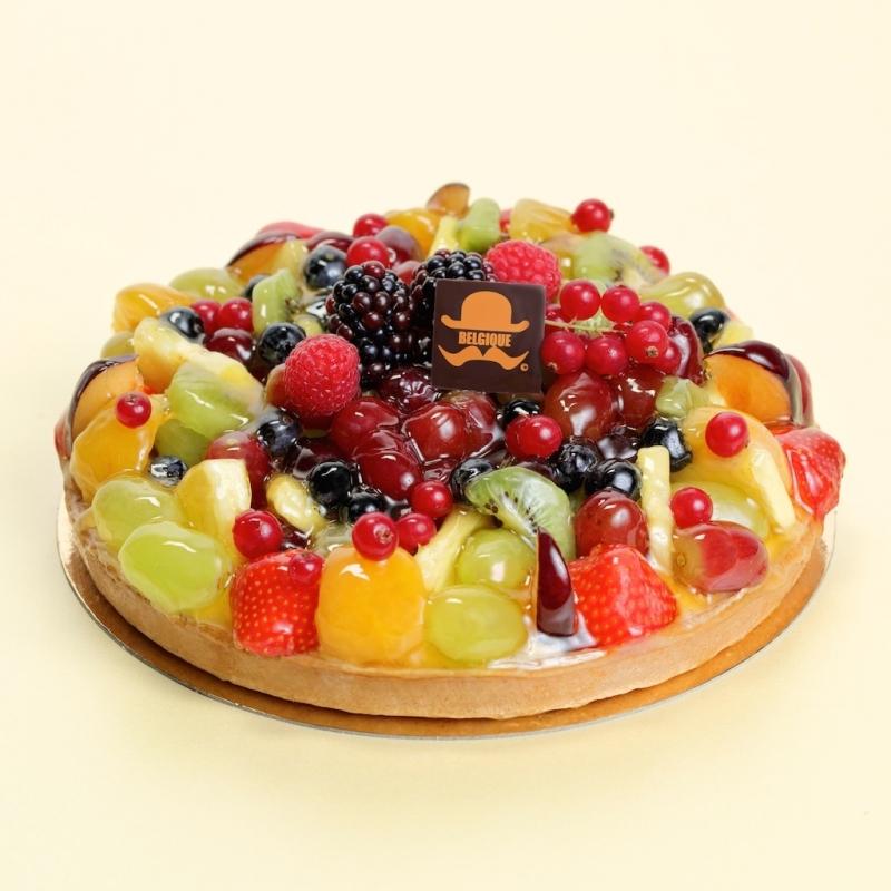 Fresh Fruit Fresh Cream Gateau CC010