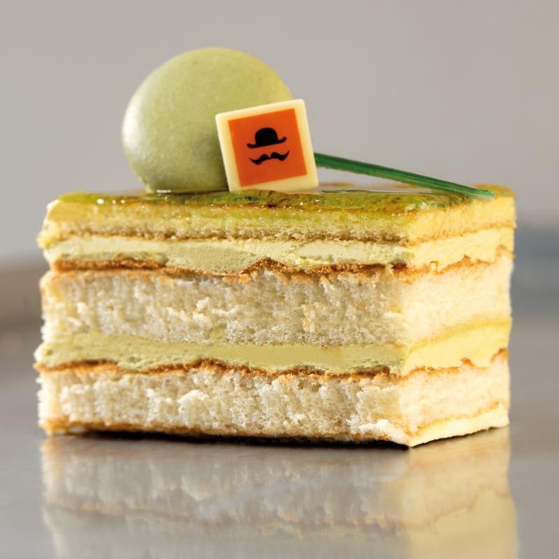 Pistacchio & vanilla cake