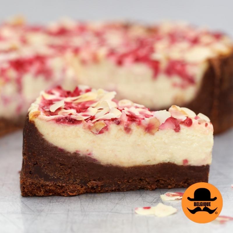 Brownie Based Cheesecake Slice