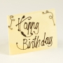 Chocolate Plaque with Yor Message